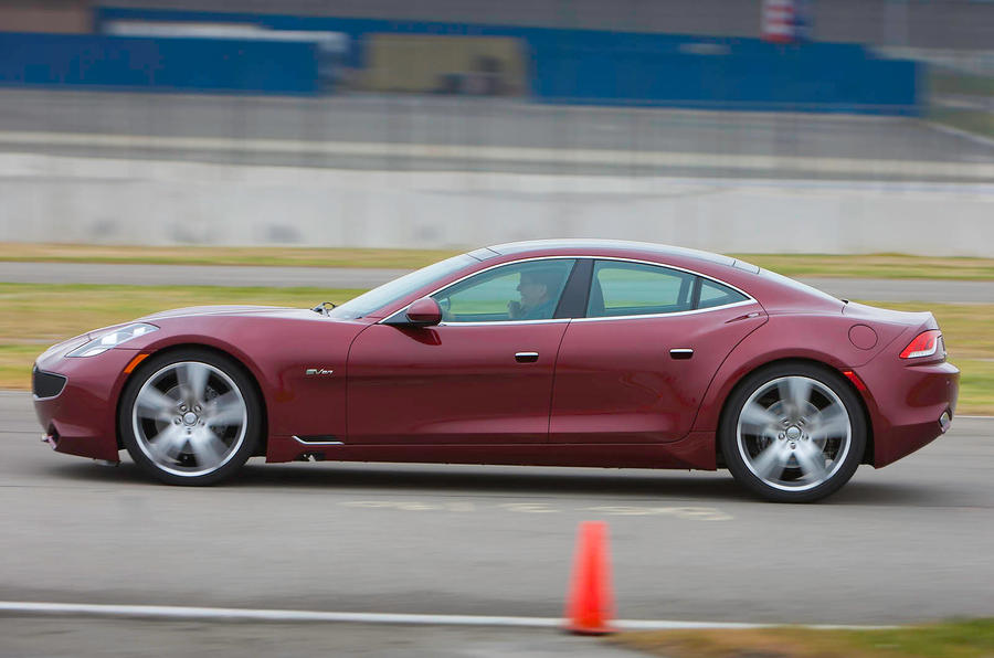 Fisker Karma four-door saloon