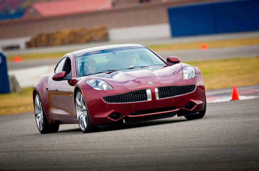Fisker files for bankrupcy