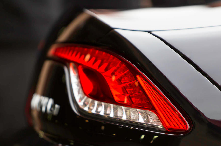 Fisker Karma rear lights