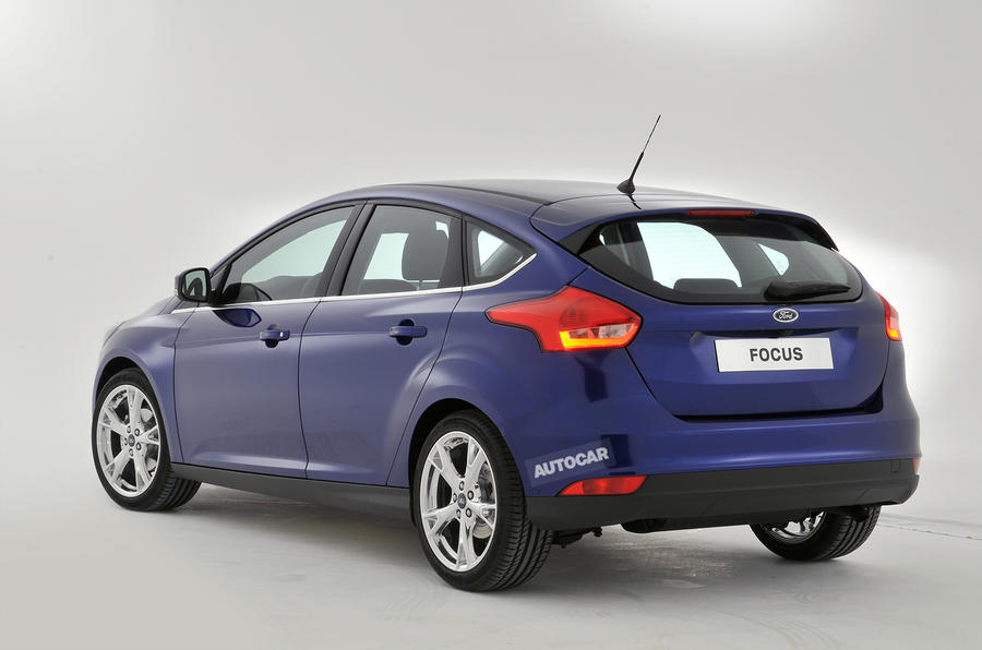 New Ford Focus revealed - plus exclusive studio pictures