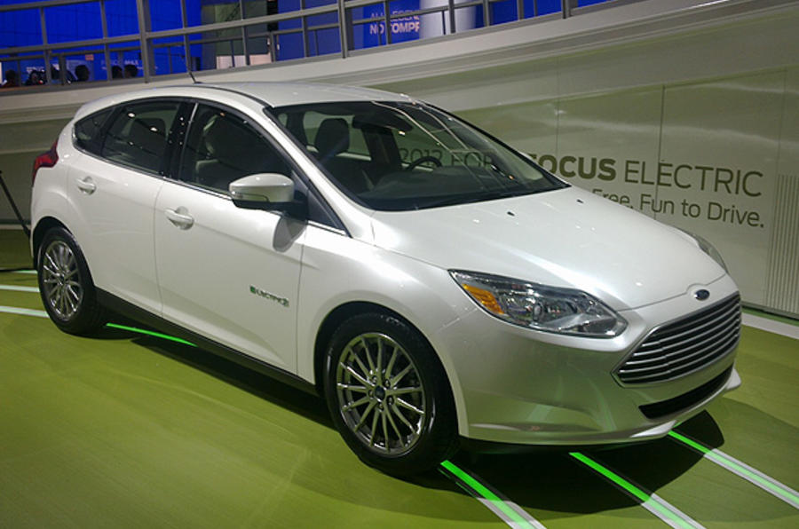 Detroit motor show: Ford Focus Electric