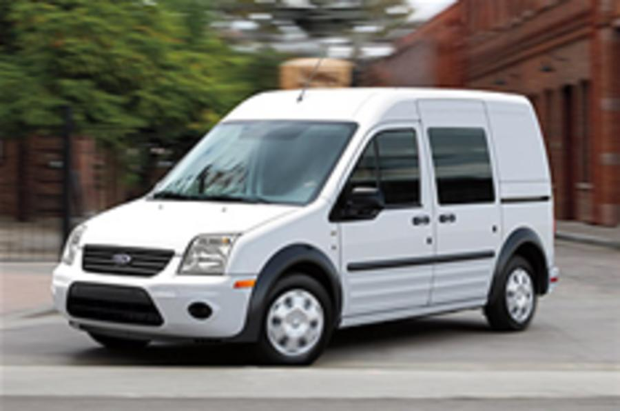 Electric Ford Transit revealed