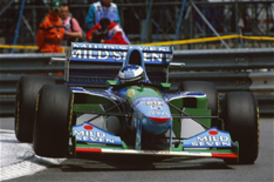Schumacher's F1 car for sale