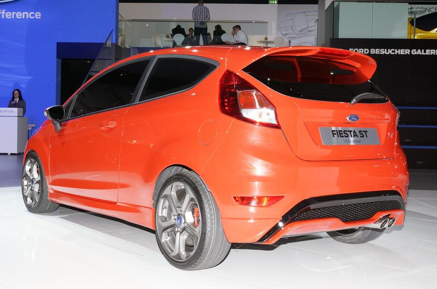 Frankfurt show: Ford Fiesta ST