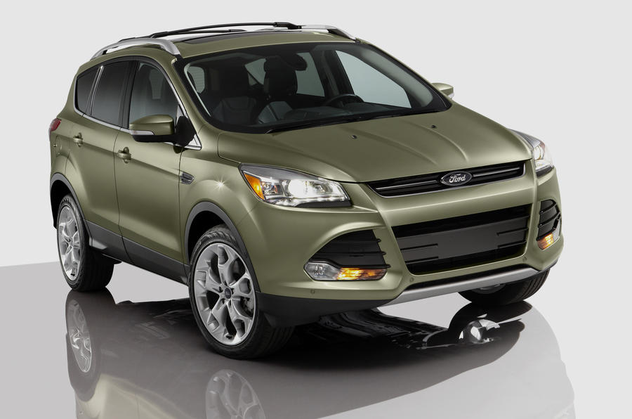 LA show: new Ford Kuga