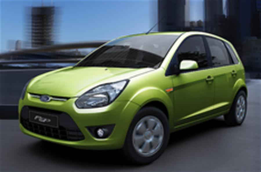 Ford Figo launched in India