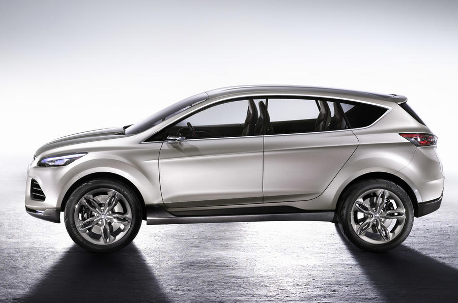 New Ford Escape shows Kuga
