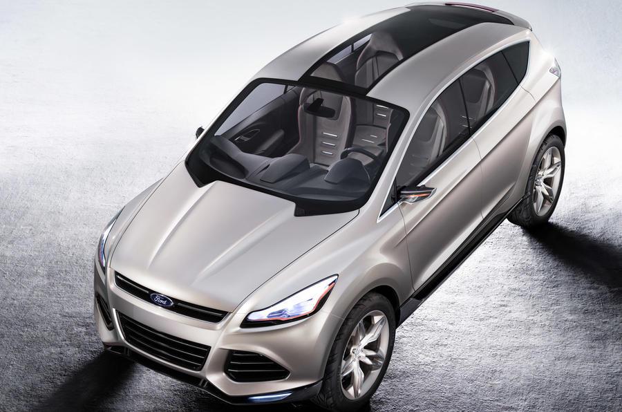 New Ford Kuga Spy Pics Autocar