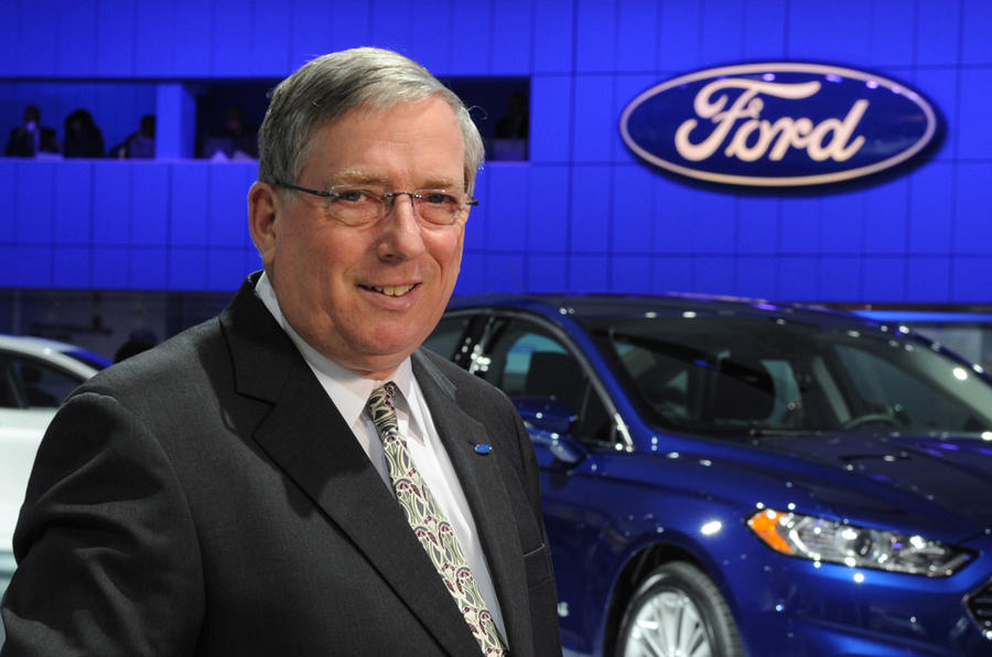 Two senior Ford chiefs retire
