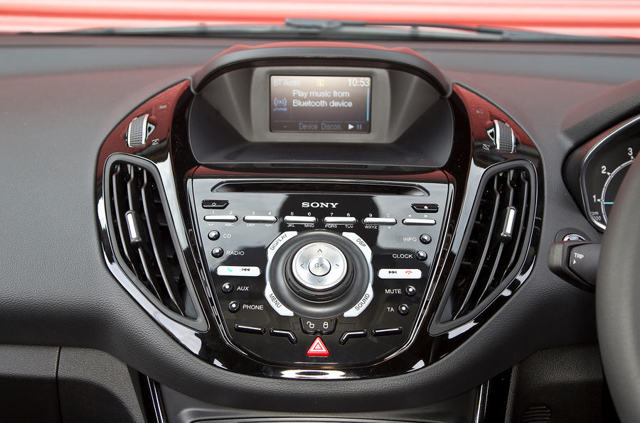 Ford B-Max Sony infotainment system