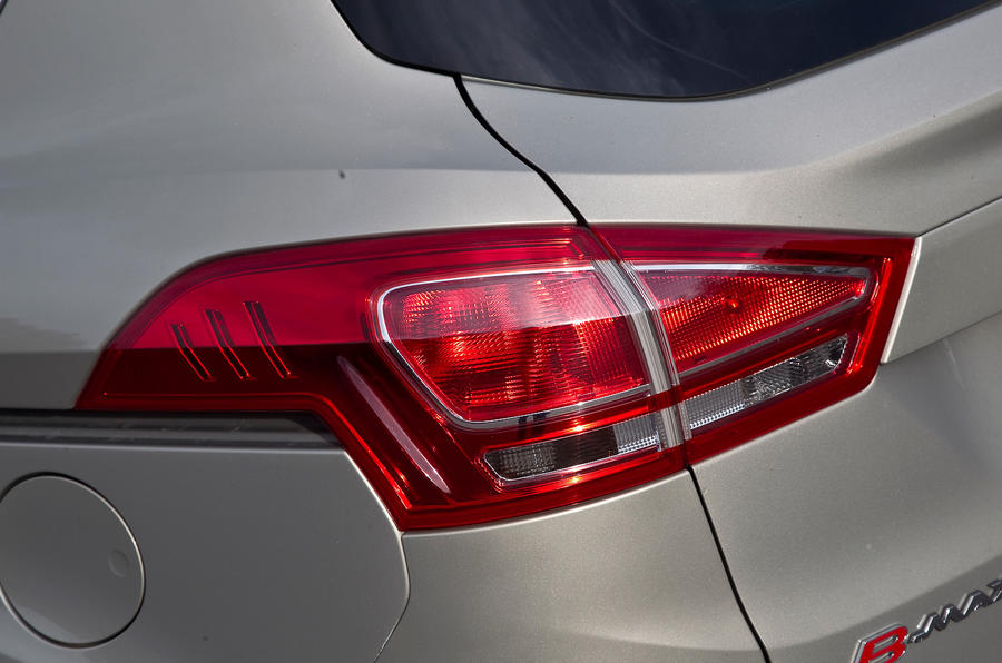 Ford B-Max rear lights