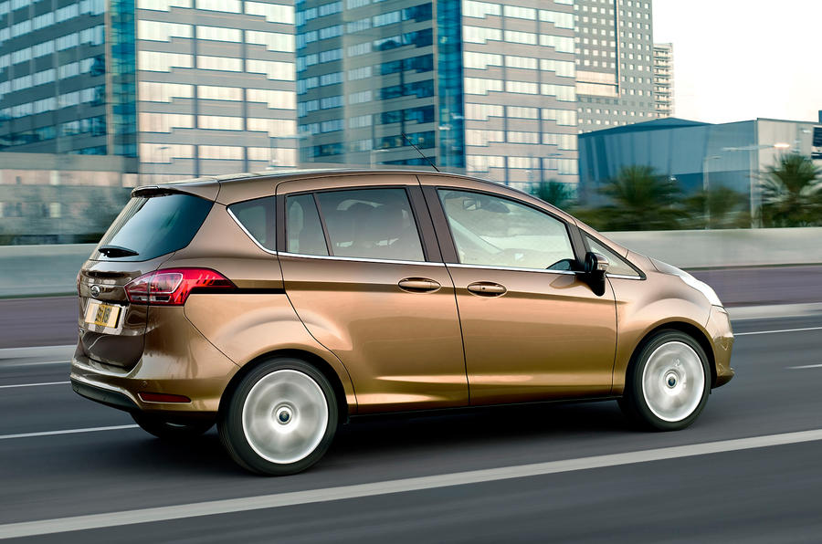 Ford B-Max side profile