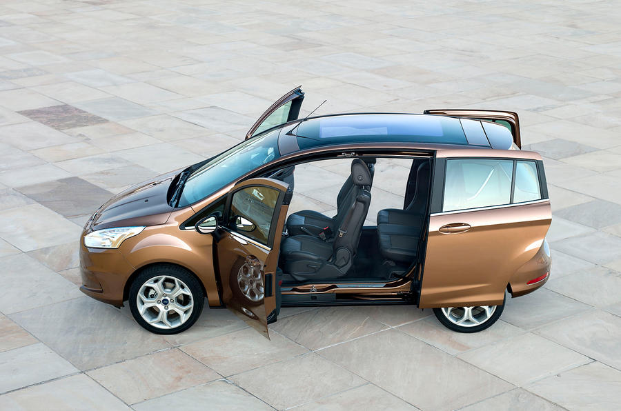 Ford B-Max doors open