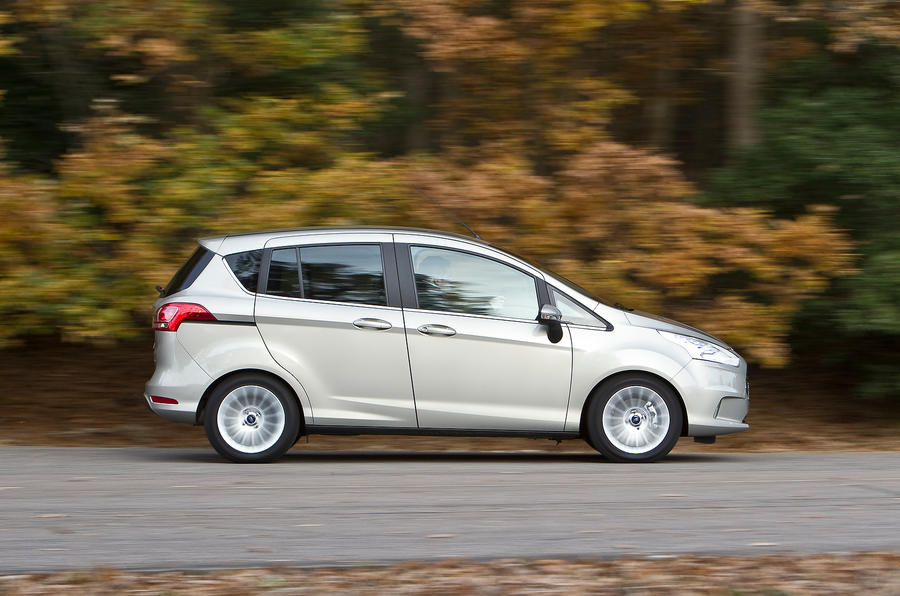 Ford B-Max side profile