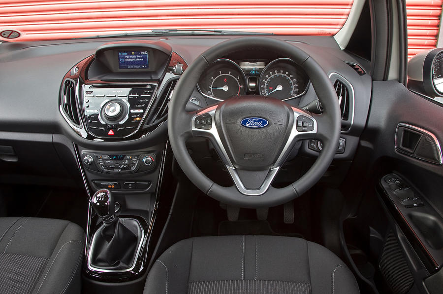 Ford B-Max dashboard