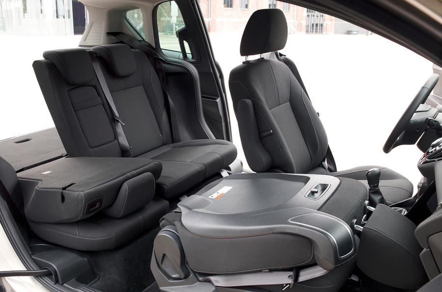 Ford B-Max seating flexibility