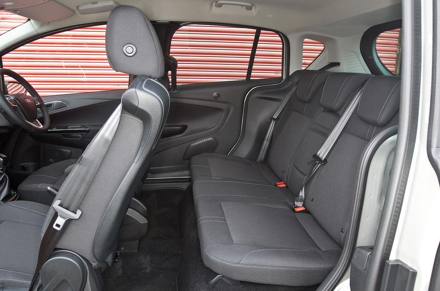 Ford B-Max rear seats