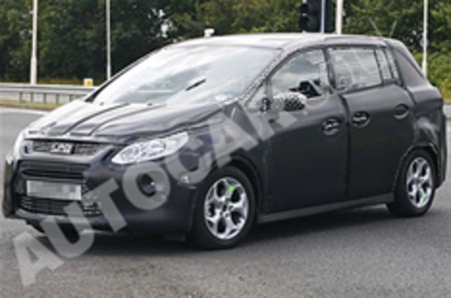 New Ford C-Max spied