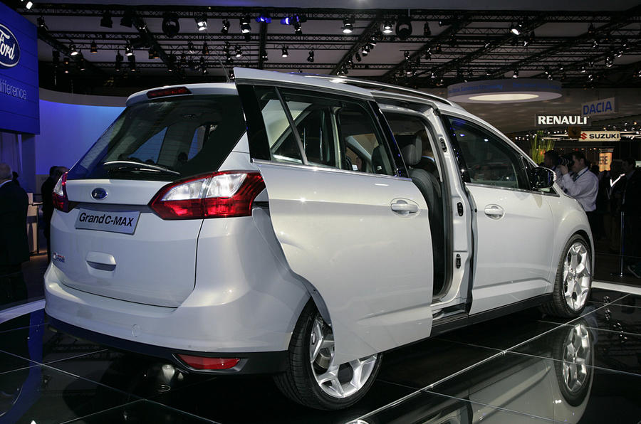 Geneva motor show: Ford C-Max