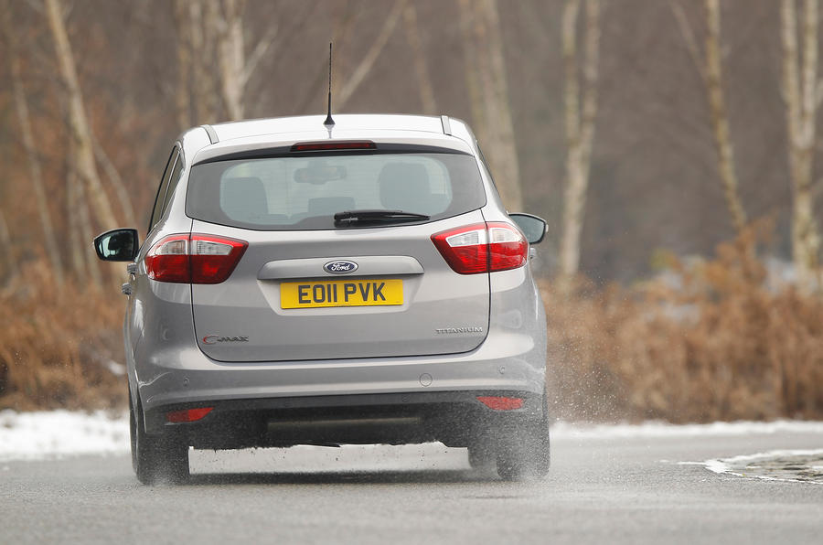 Ford C-Max rear cornering