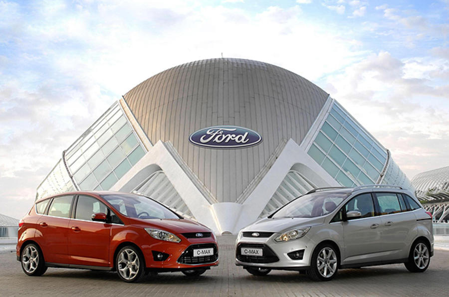 New Ford C-Max from £16,745