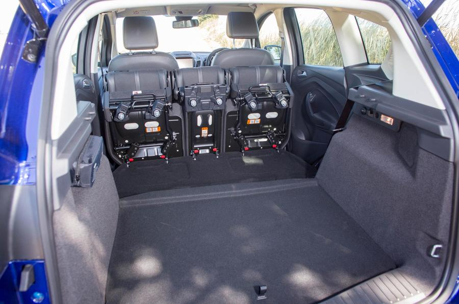 Ford C-Max extended boot space