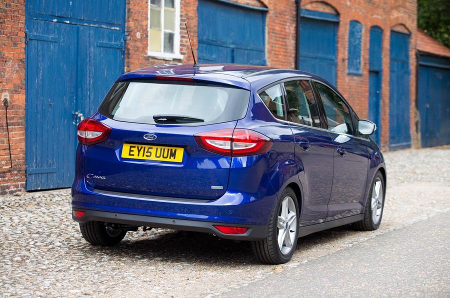 Ford C-Max rear quarter