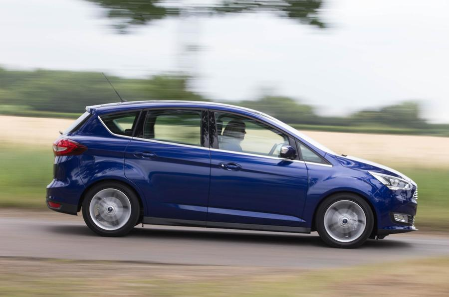 Ford C-Max cornering
