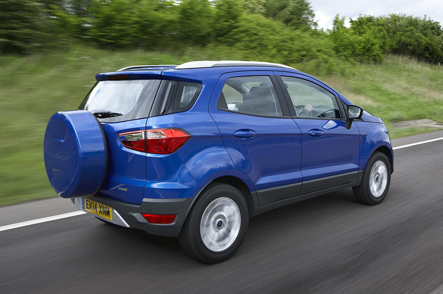 Best car deals: Ford EcoSport, Suzuki SX4 S-Cross, Nissan Juke, Jaguar XF