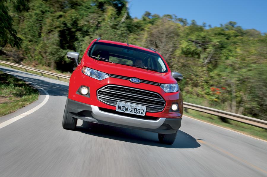 Ford Ecosport cornering