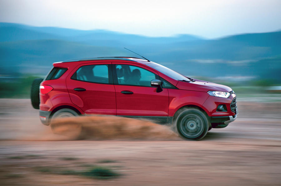 Ford Ecosport side profile
