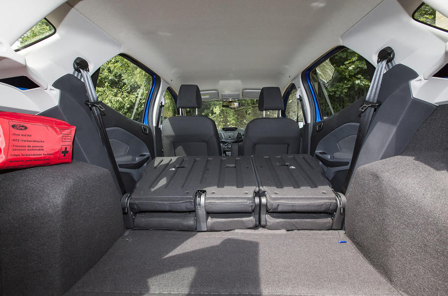 Ford EcoSport extended boot space