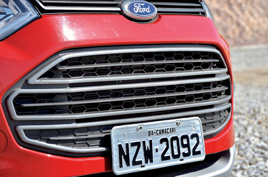 Ford Ecosport front grille