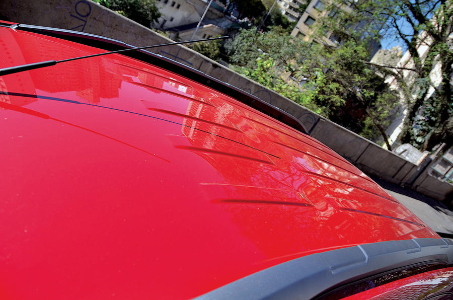 Ford Ecosport roof rails
