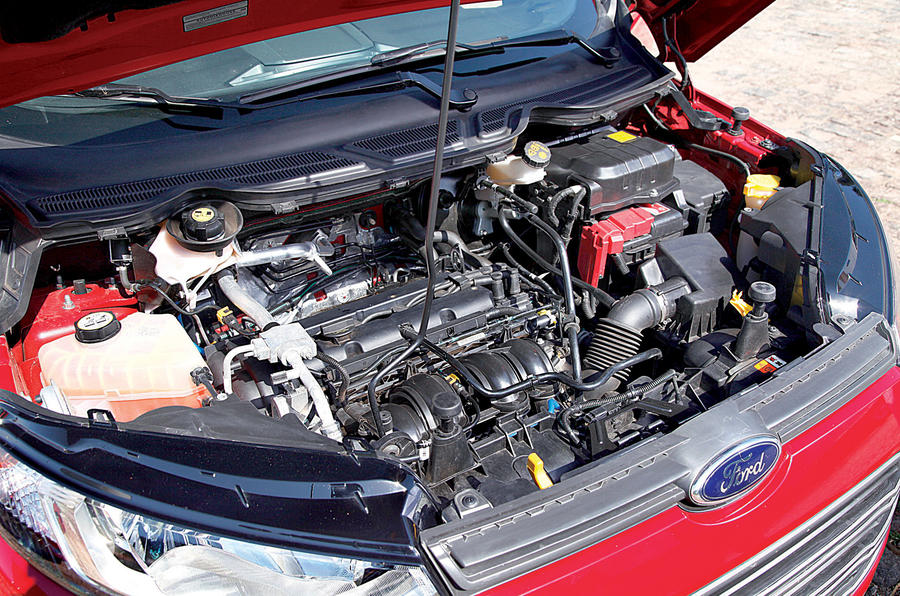 1.6-litre Ford Ecosport petrol engine
