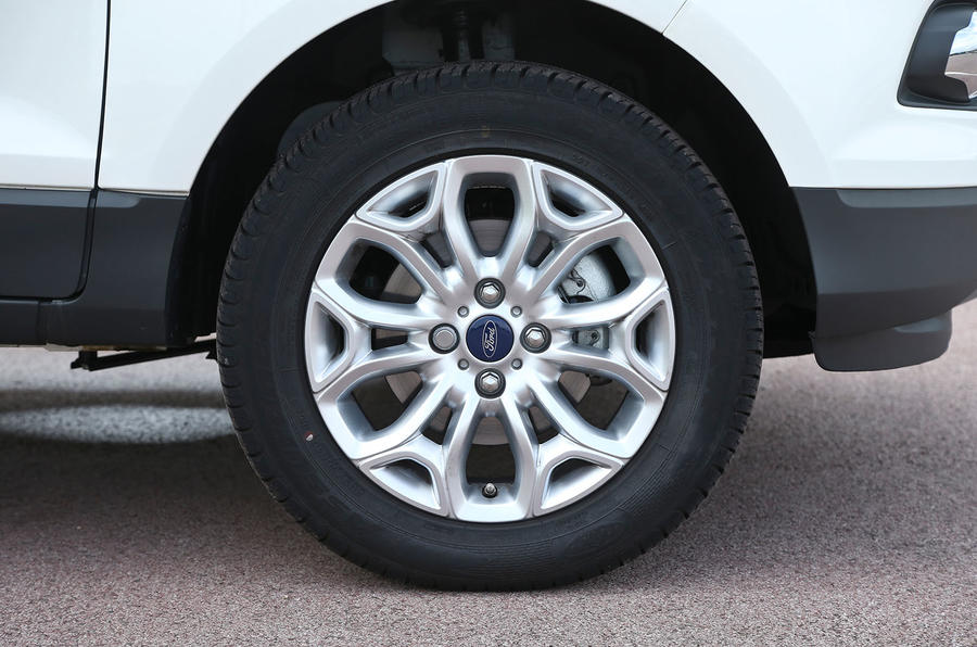 16in alloys are standard on the Ford EcoSport Titantium trim