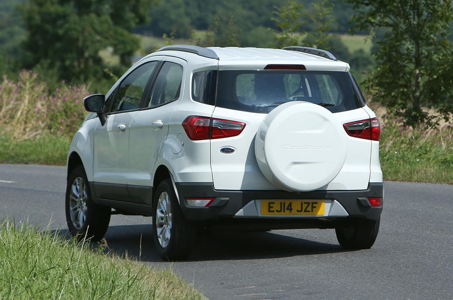 The 1.5-litre petrol is the only Ford EcoSport engine to offer an automatic gearbox