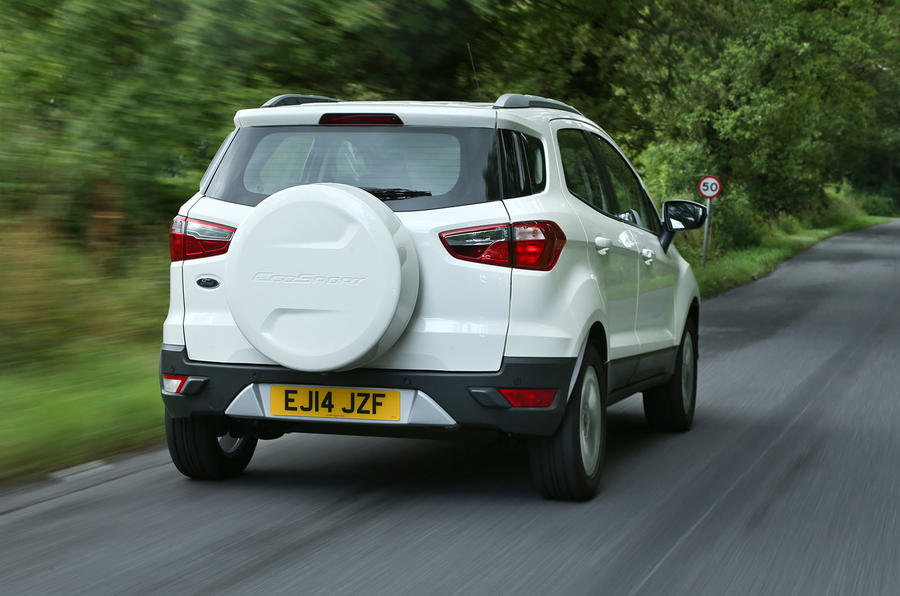 The ESP on the Ford EcoSport is too intrusive in a track environment