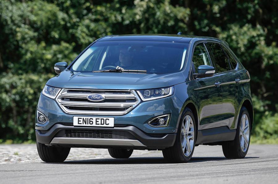 Ford Edge cornering