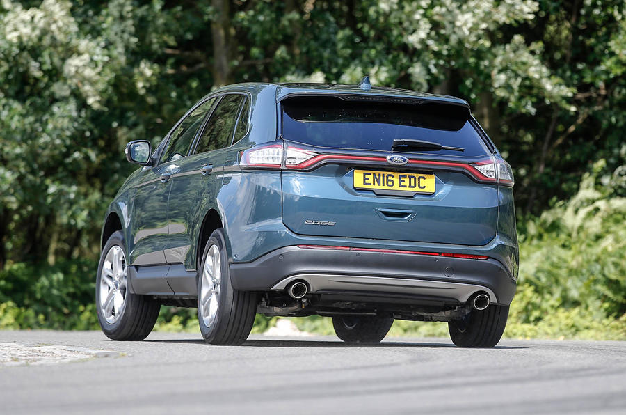 Ford Edge rear cornering