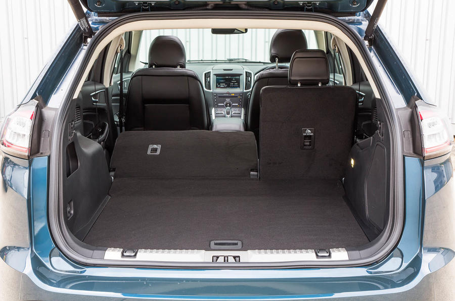 Ford Edge boot space