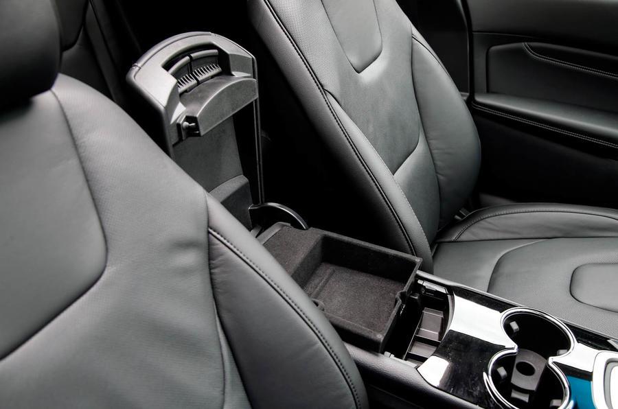 Ford Edge cubby hole