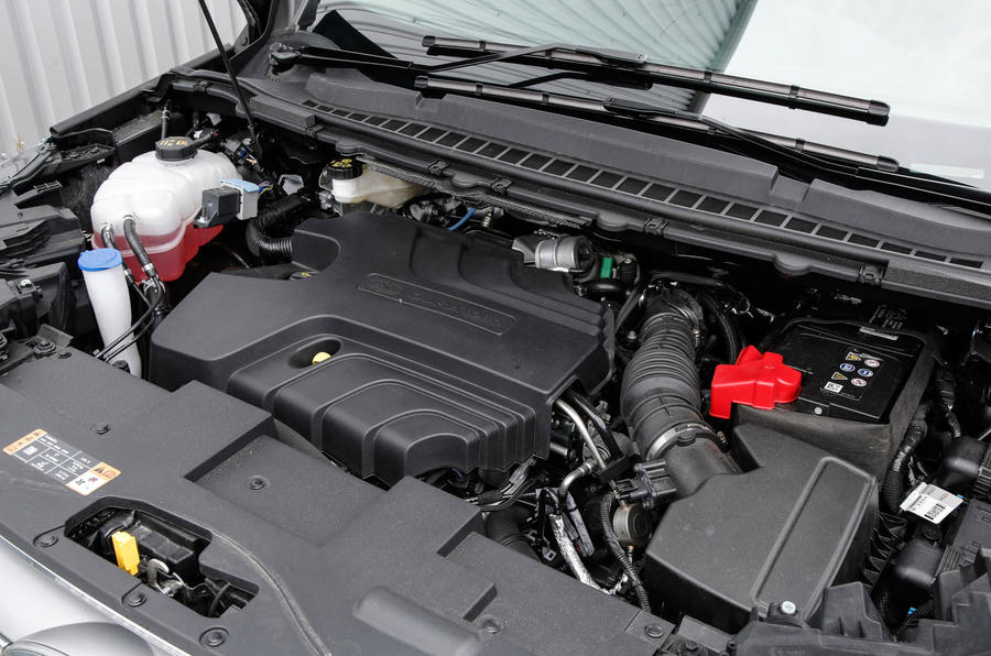2.0-litre TDCi Ford Edge engine