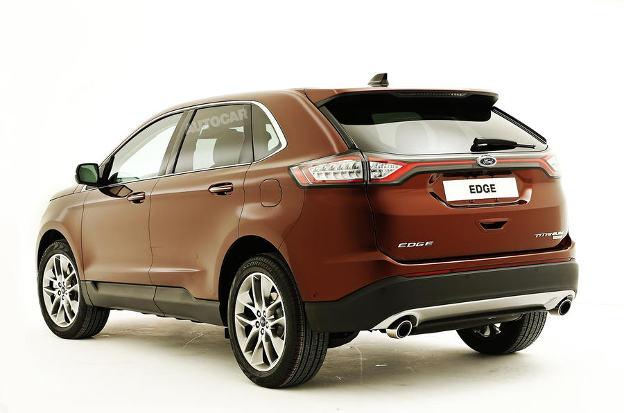 New Ford Edge SUV to take on BMW and Audi - exclusive studio pictures