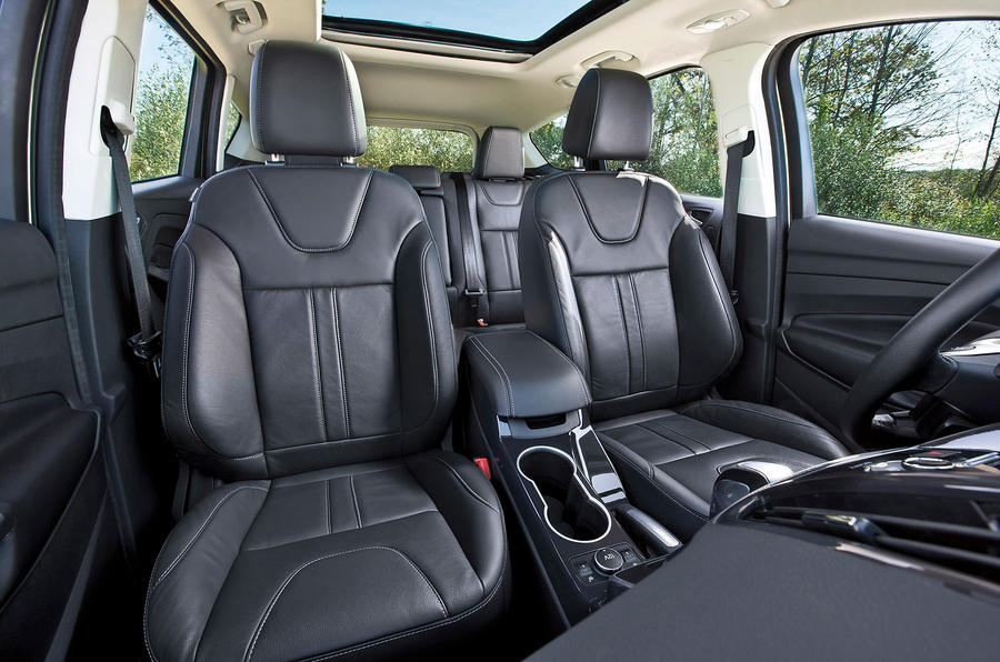 Ford Escape front seats