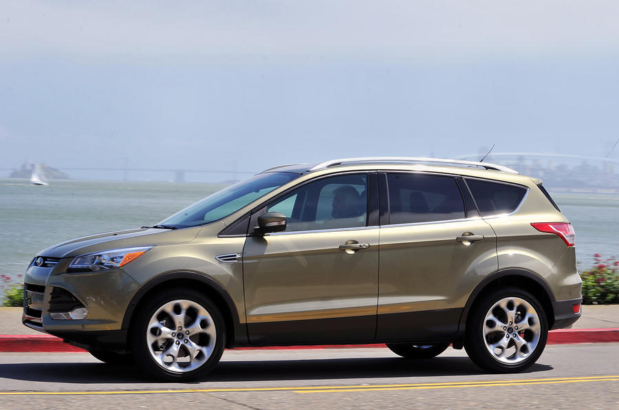 Ford Escape side profile