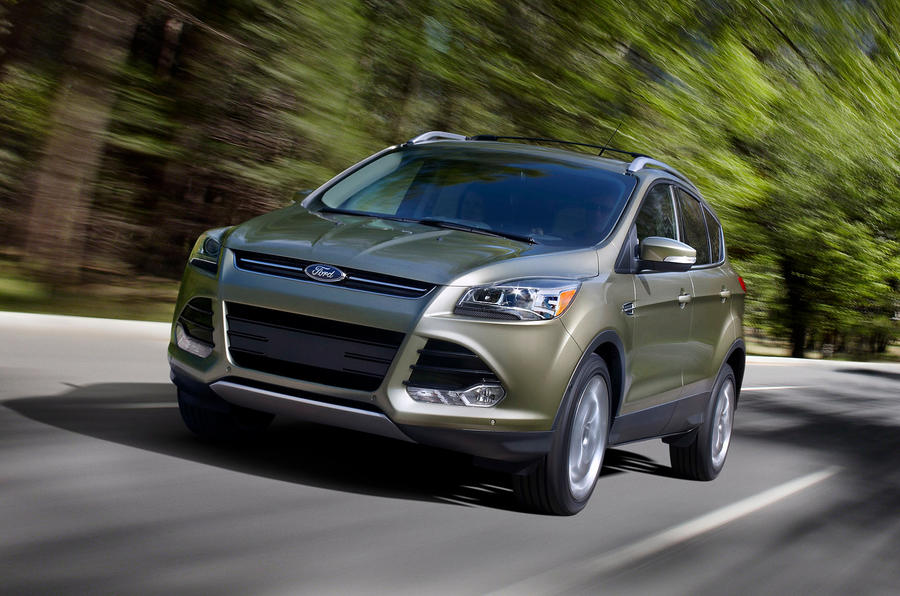 Ford Escape front quarter