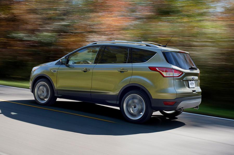 Ford Escape rear quarter