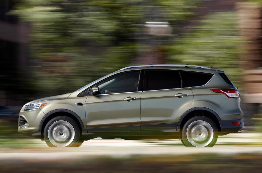 Ford Escape side profile