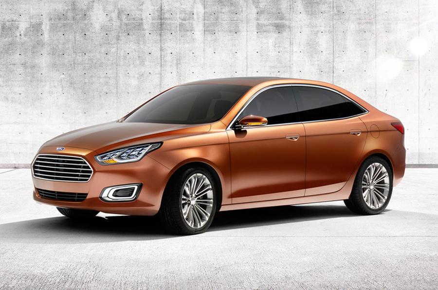 Ford Escort: Shanghai motor show 2013